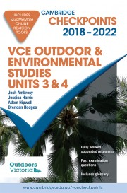 Cambridge Checkpoints VCE Outdoor and Environmental Studies Units 3&4 2018-2022 (print and digital)