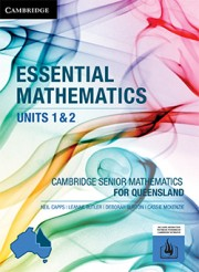 Essential Mathematics Units 1&2 for Queensland (print and