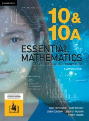 Essential Mathematics for the Australian Curriculum Year 10/10A Second Edition Online Teaching Suite