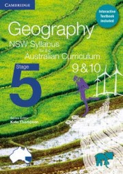 Geography NSW Syllabus for the Australian Curriculum Stage 5 Year 9&10 (print and digital)