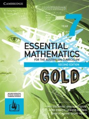 Essential Mathematics GOLD for the Australian Curriculum Year 7 Second Edition (print and interactive txbk powered by HOTmaths)