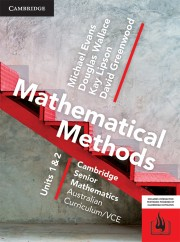 Mathematical Methods VCE Units 1&2 Online Teaching Suite
